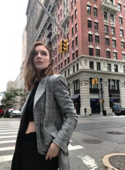 Zara Blazer in New York City