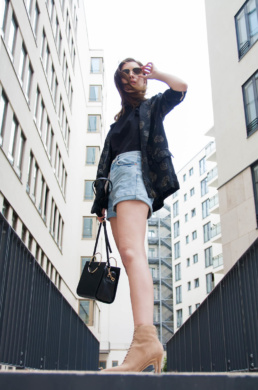 Zara Bag Topshop Mom Shorts Longblazer | Fancyflare German Blogger