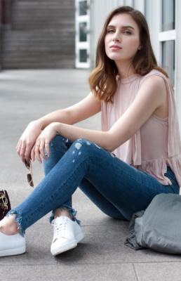 COS Sneaker Zara Jeans Spring Trends   Fancyflare German Blogger