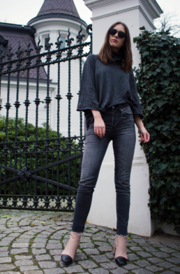Mango Sweater, H&M Denim, Topshop beige boots | Fancyflare German Blog