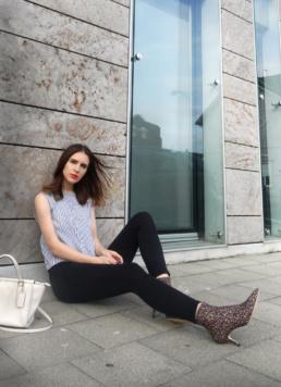 Sock Boots Zara Topshop Jamie Jeans Coach Bag