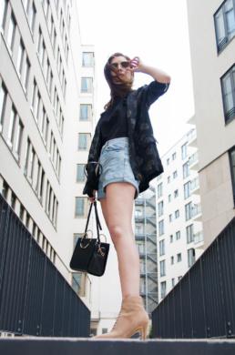 Zara Bag Topshop Mom Shorts Longblazer   Fancyflare German Blogger