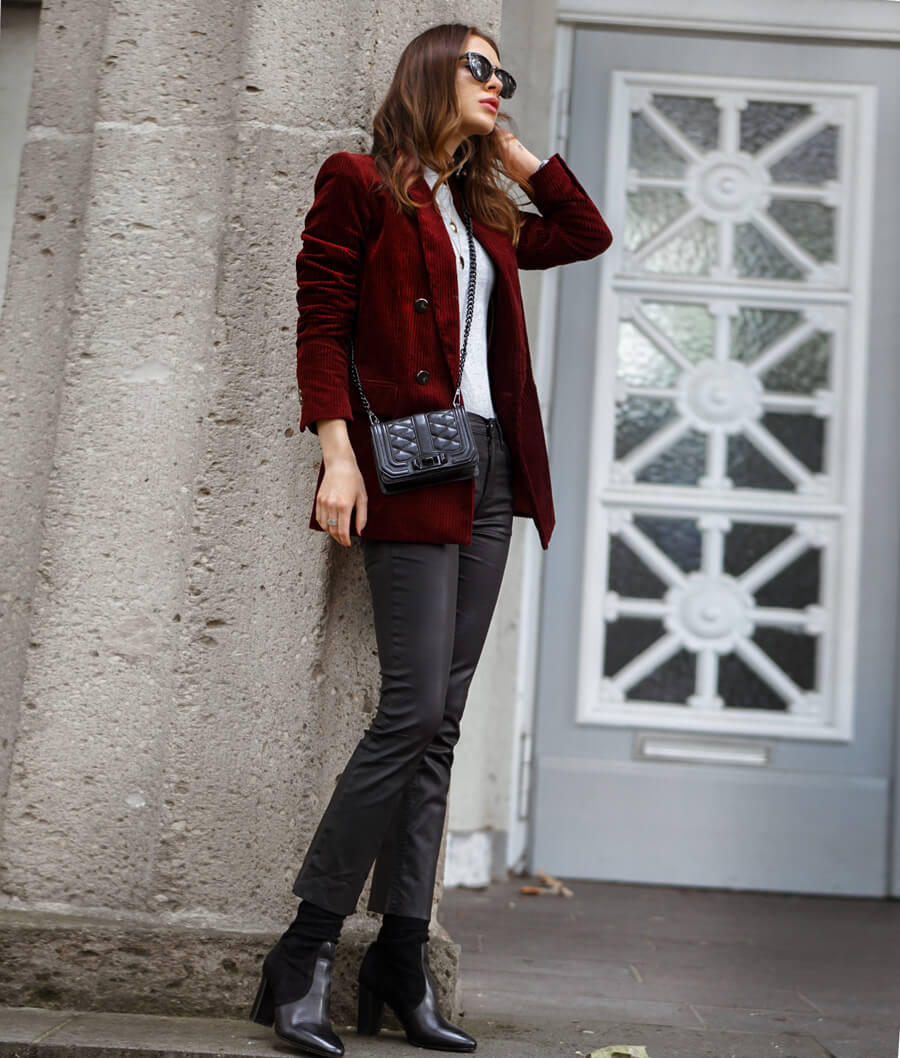 Cord-Blazer-Outfit-9 Corduroy Blazer Outfit: A Modern Look